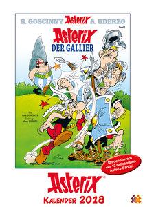 Asterix Comiccover-Kalender 2018