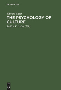 The Psychology of Culture