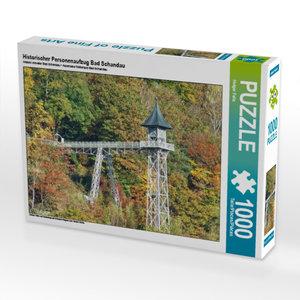 CALVENDO Puzzle Historischer Personenaufzug Bad Schandau 1000 Te