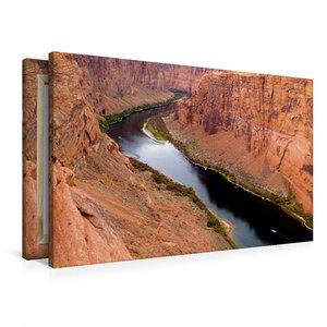 Premium Textil-Leinwand 90 cm x 60 cm quer Colorado River