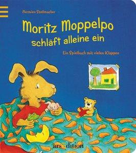 Moritz Moppelpo schläft schon alleine ein