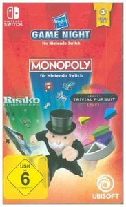Hasbro Game Night, 1 Nintendo Switch-Spiel