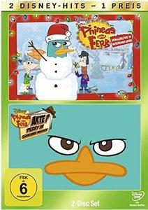 Phineas und Ferb - Schnabeltier in Geschenkpapier & Akte P: Perr