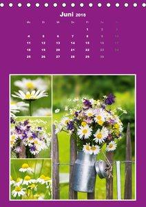 Der farbenfrohe Collagen Kalender