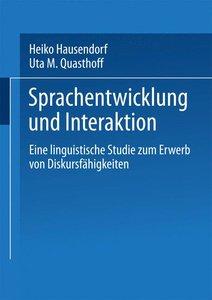 Sprachentwicklung und Interaktion