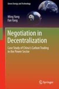 Negotiation in Decentralization