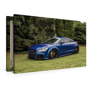 Premium Textil-Leinwand 90 cm x 60 cm quer TT Coupé RS