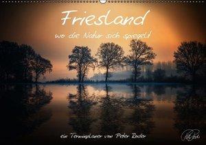 Terminplaner - Friesland, wo die Natur sich spiegelt (Wandkalend