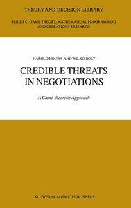 Credible Threats in Negotiations