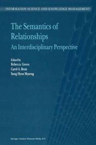 The Semantics of Relationships