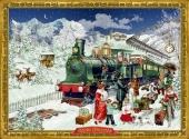 Adventskalender - Nostalgische Eisenbahn - zum Schließen ins Bild klicken