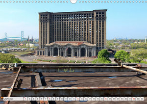 Detroit - Modern Ruins (Wandkalender 2020 DIN A3 quer)