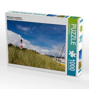 Hörnumer Leuchtturm 1000 Teile Puzzle quer