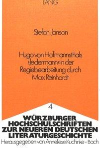 Hugo von Hofmannsthals «Jedermann» in der Regiebearbeitung durch