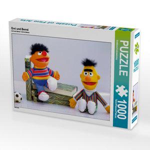 CALVENDO Puzzle Erni und Bernd 1000 Teile Lege-Größe 64 x 48 cm