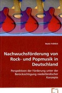 Nachwuchsförderung von Rock- und Popmusik in Deutschland