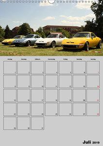 Opel GT Terminplaner (Wandkalender 2019 DIN A3 hoch)