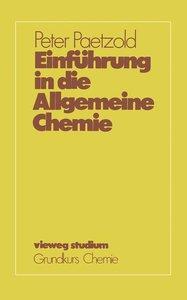 Einführung in die Allgemeine Chemie