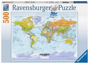 Ravensburger 147557 - Weltkarte, politisch - The World - Puzzle,