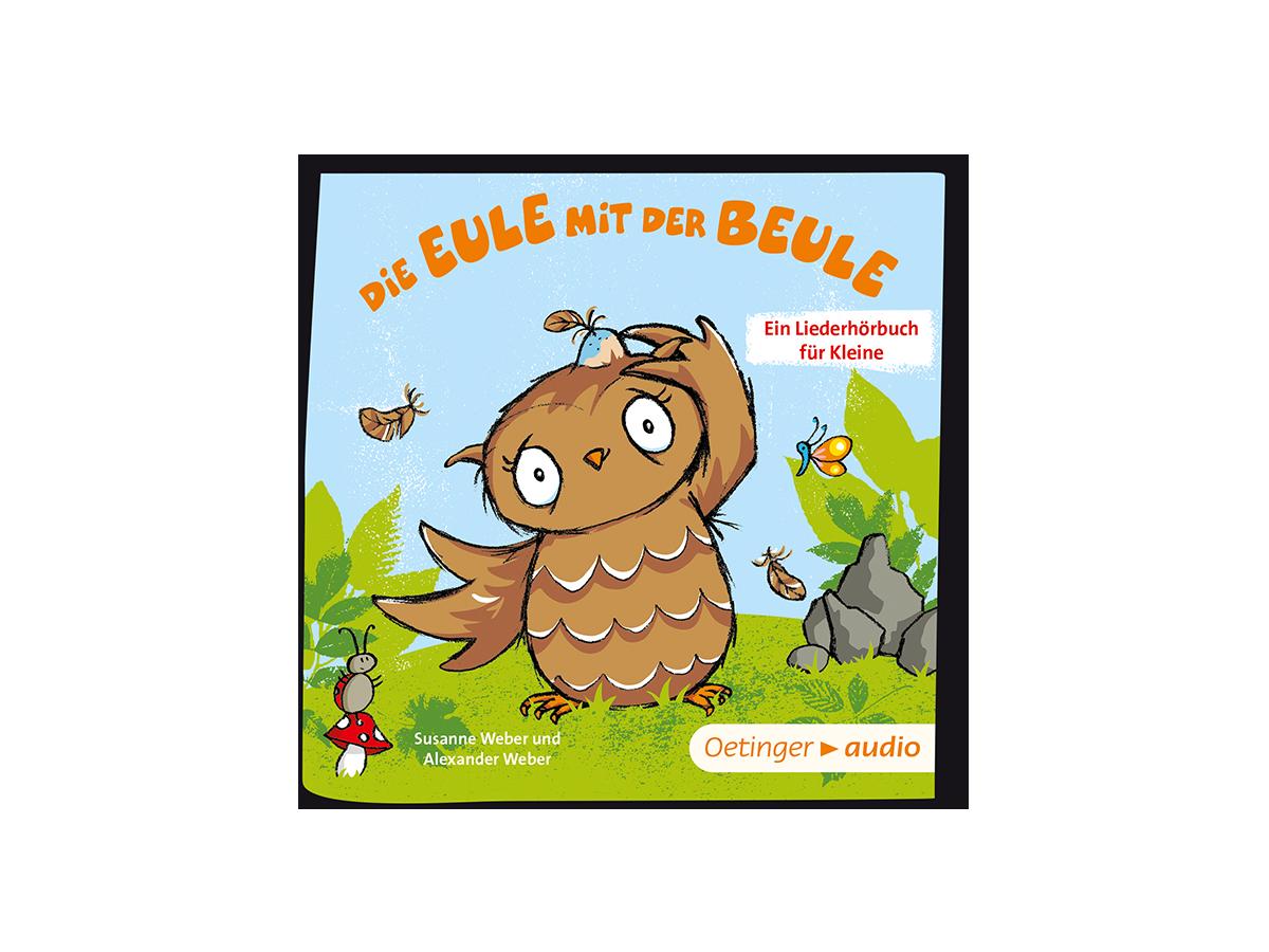01-0098 Tonie-Die Eule mit der Beule - Die Eule mit der Beule - zum Schließen ins Bild klicken