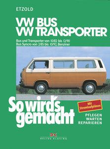 So wird's gemacht, VW Bus und Transporter von 10/82 bis 12/90. B