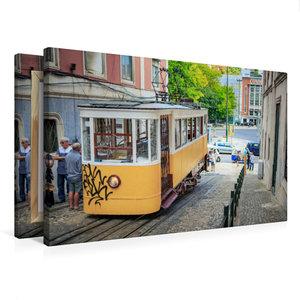 Premium Textil-Leinwand 75 cm x 50 cm quer Elevador da Gloria