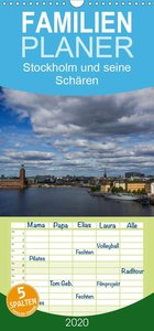 Stockholm und seine Schären - Familienplaner hoch