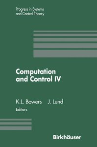 Computation and Control IV