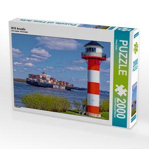 NYK Arcadia 2000 Teile Puzzle quer