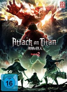 Attack on Titan. Staffel.2.1, 1 DVD (mit Sammelschuber)