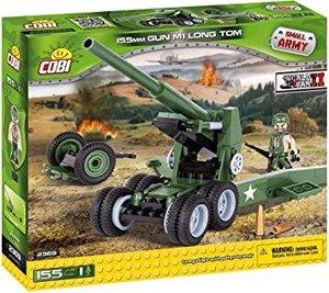 COBI 2369 - SMALL ARMY, 155 mm Gun M1 Long Tom, Haubitze, WWII,