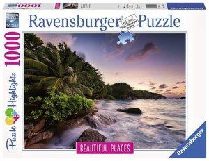 Insel Praslin auf den Seychellen (Puzzle)