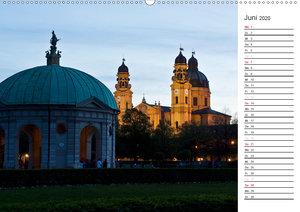 München - Die Schöne (Wandkalender 2020 DIN A2 quer)