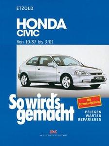 So wird's gemacht. Honda Civic ab 10/87