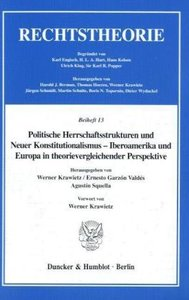 Politische Herrschaftsstrukturen und Neuer Konstitutionalismus -