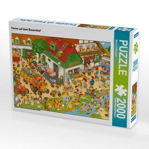 Ferien auf dem Bauernhof 2000 Teile Puzzle quer