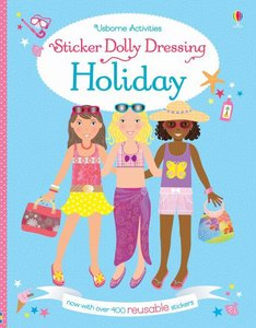 Sticker Dolly Dressing - Holiday