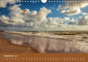 Wasser Wind Sand und Sonne (Wandkalender 2019 DIN A4 quer)