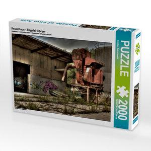 Kesselhaus - Ziegelei- Speyer 2000 Teile Puzzle quer