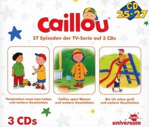 Caillou Hörspielbox 9 (CD 25-27)