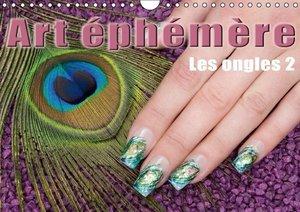 Art éphémère - Les ongles 2 (Calendrier mural 2015 DIN A4 horizo