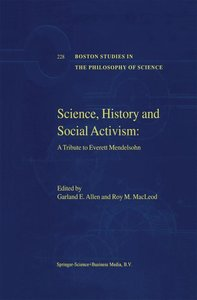 Science, History and Social Activism