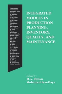 Integrated Models in Production Planning, Inventory, Quality, an
