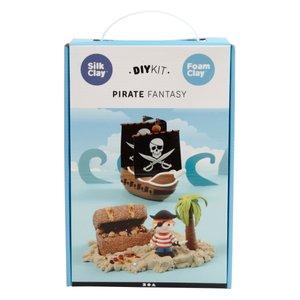 Bastelset Piraten aus Knetmasse