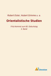 Orientalistische Studien
