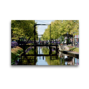 Premium Textil-Leinwand 45 cm x 30 cm quer Am Hauptkanal