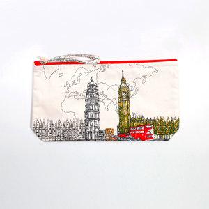 Tasche, siebgedruckt- Design London