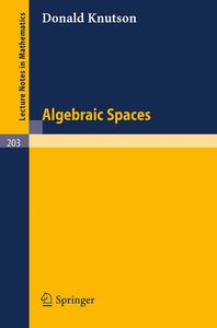 Algebraic Spaces