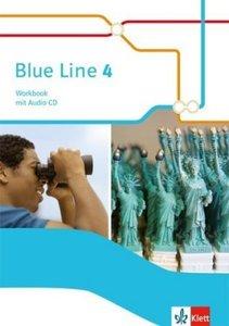 Blue Line. Workbook mit Audio-CD. Klasse 8. Ausgabe 2014