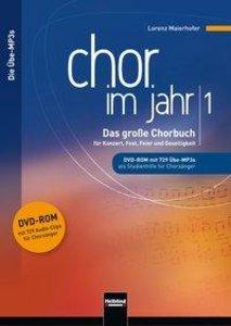 Chor im Jahr 1. Übe-MP3s auf DVD-ROM